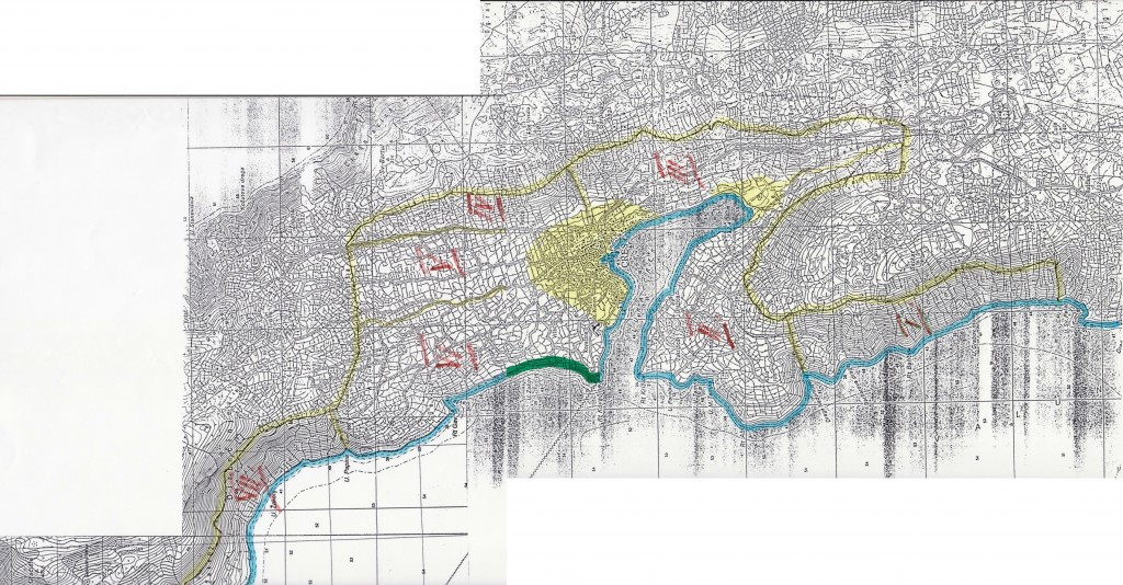 CRES mapa